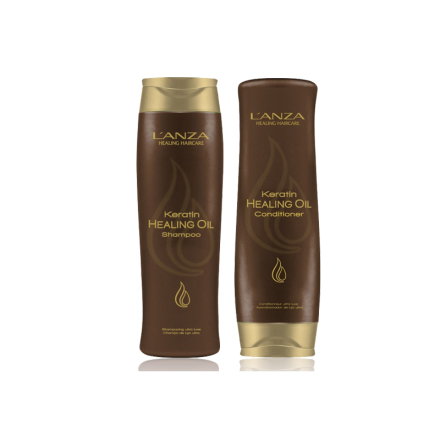 Lanza Keratin Healing Oil Shampoo & Conditioner
