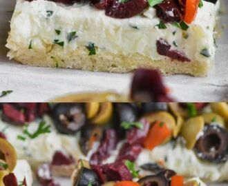 This Olive Pizza Appetizer is easy to make and the perfect party food! #appetizer | Appetizers & Starters in 2019