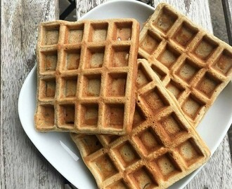Waffles Paleo 3 Ingredientes