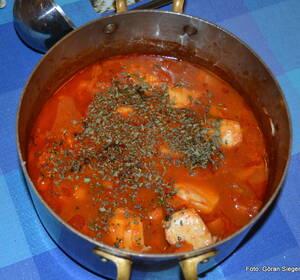 godaste fisksoppan med saffran