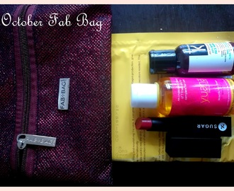 October 2017 Fab Bag Review