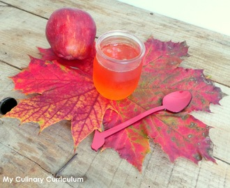 Gelée de pommes rouges au Cook Expert (Red apple jelly jam)