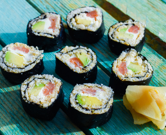 Low Carb Sushi – Wie das Original mit Kochvideo – super lecker!
