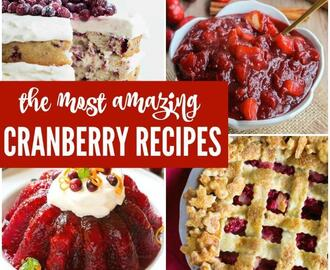 8 Thanksgiving Cranberry Recipes to Try This Year