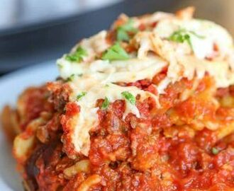 Lazy Crock Pot Lasagna (Ravioli) - Spend With Pennies