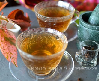 Kashayam ( Cold and cough Remedy )