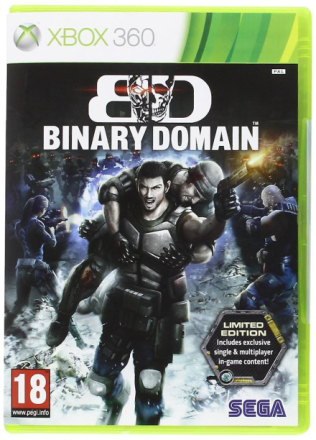 Sega Binary Domain Limited Edition spel Xbox 360 spel