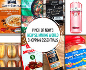 New Slimming World Shopping Essentials 27/10/17