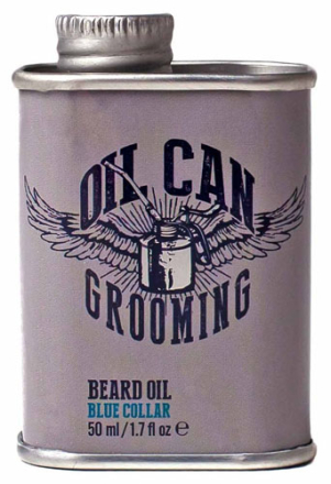 Oil Can Grooming Blue Collar Beard Oil - 50 ml