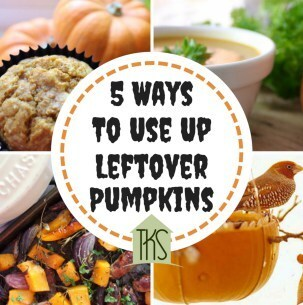 5 Ways To Use Up Leftover Pumpkins
