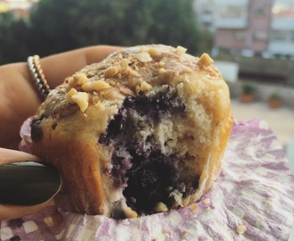 MOOD: Muffins de Mirtilo e Aveia