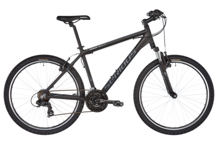 "Serious Rockville MTB Hardtail 26"" svart 45cm (26"") 2018 Juniorcyklar"