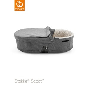 Stokke Scoot Carry Cot Black Melange Scoot Carry Cot Black Melange