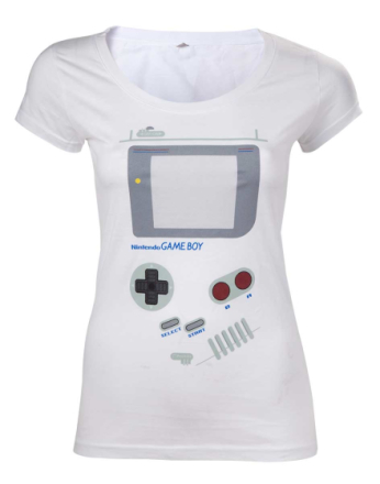 T-Shirt Dam Nintendo - Gameboy