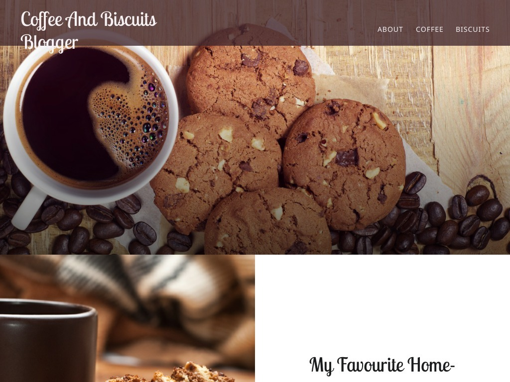 Coffee And Biscuits Blogger