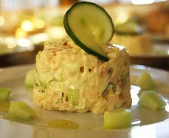 Summer Salmon Timbales