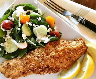 Low Carb Breading Mix – for Fish, Veggies, Pork, etc.