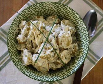 Garlic and Tarragon Potato Salad