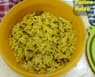 Pudina Pulao | How to make Easy Mint Rice