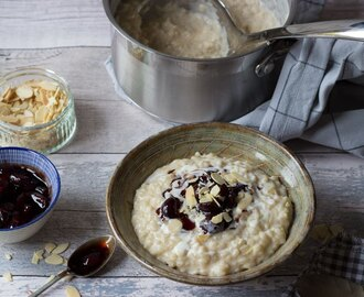 Rice Pudding & Cherry Sauce from Cook yourself Happy