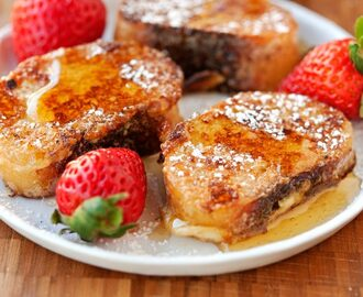 Can't Stop Eating Breakfast: Bite Sized Sourdough French Toast