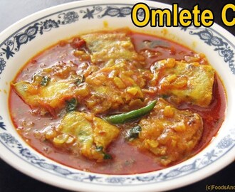 Egg Omelet Curry – Egg Omellet Curry – Indian curry recipes