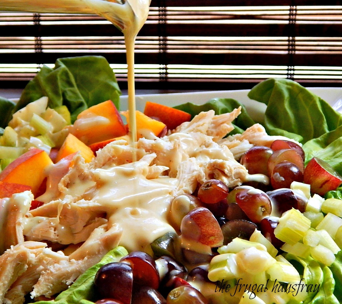 Fruited Chicken Salad with Honey Dijon
