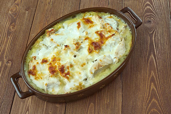 Chicken and Mashed Potato Bake