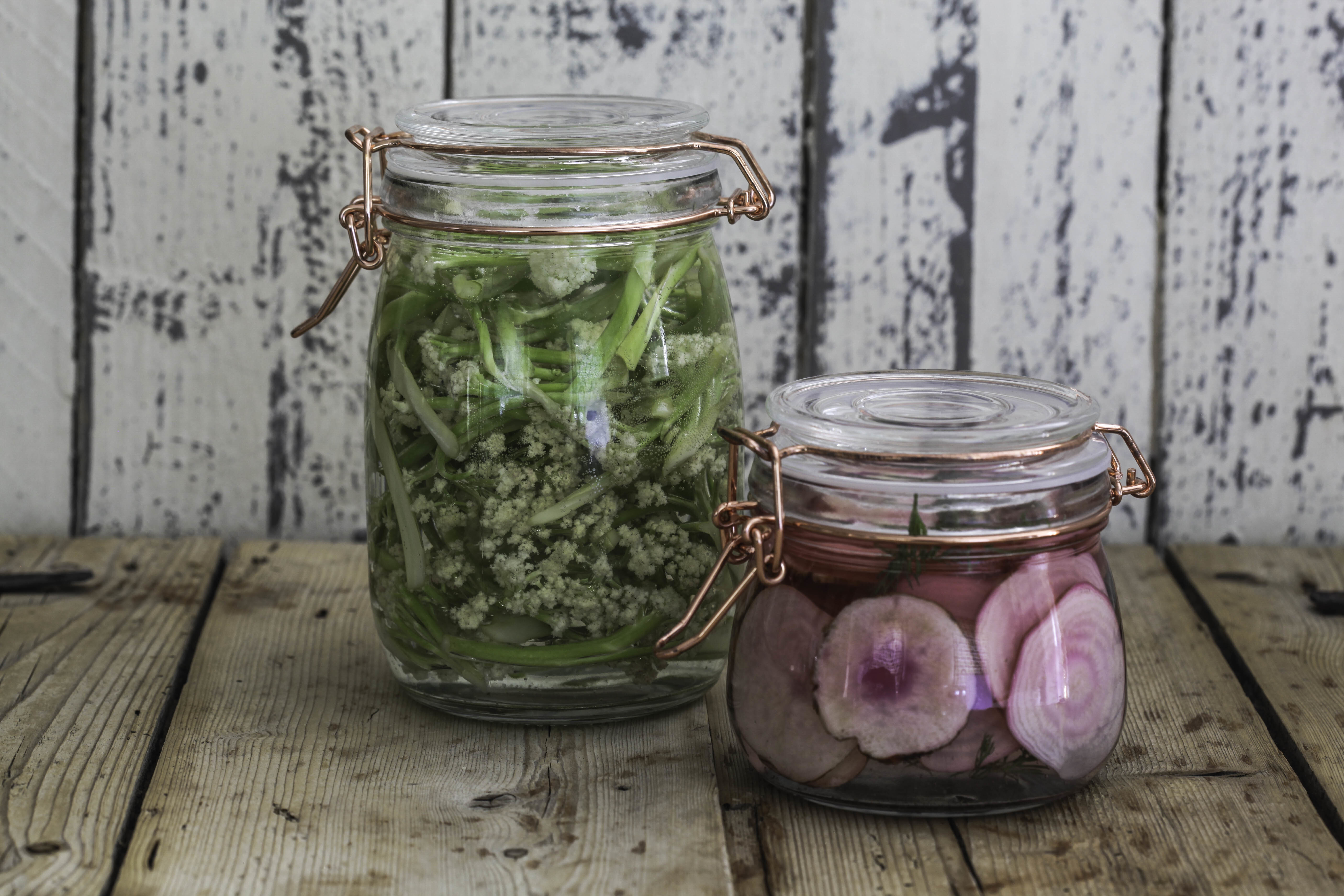 Swedish Pickles – Cauliflower And Beetroot
