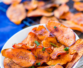 How to Make Perfect Sweet Potato Chips
