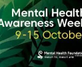 Mental Health Awareness Week (MHAW),