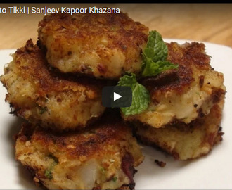 Sweet Potato Tikki Recipe Video