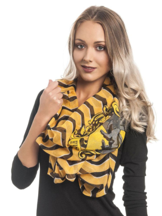 Halsduk Harry Potter - Loop Scarf Hufflepuff