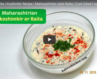 Mix Veg Raita Recipe Video