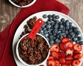 Nut-Free Double Chocolate Molasses Granola