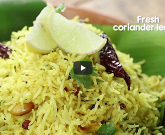 Lemon Rice Recipe Video
