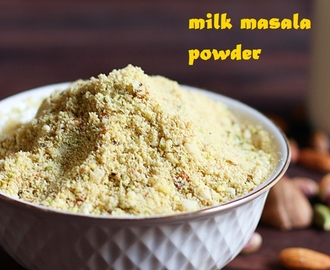 Masala milk powder recipe | How to make masala milk powder at home | Masala milk recipe