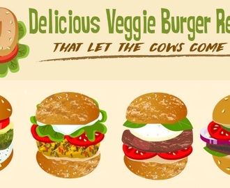 10 Awesome Vegetarian and Vegan Burger Recipes