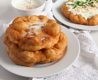 Hungarian Fried Bread – Quick Homemade Langos