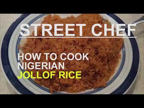 STREET CHEF: HOW TO COOK NIGERIAN JOLLOF RICE-EP3