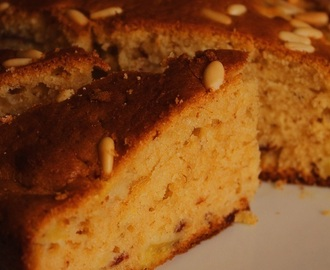 Torta facilissima e buonissima con mele e pinoli - Apple and pine nut cake