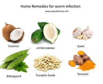 Worm infection – natural home remedies