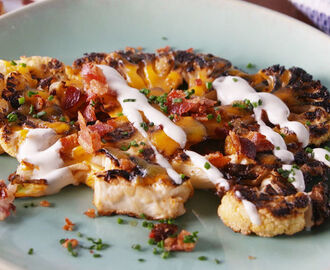 Loaded Grilled Cauliflower