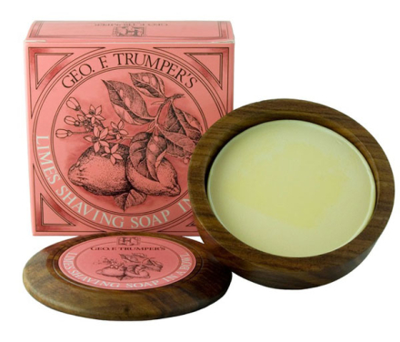 Geo. F. Trumper Extract of Limes Shaving Soap Wooden Bowl