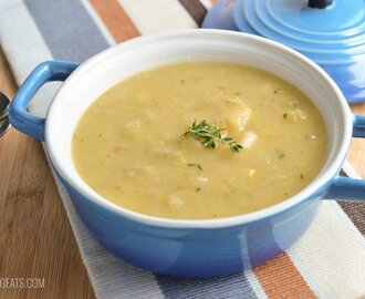 Chunky Leek and Potato Soup