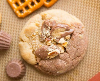 Chocolate Peanut Butter Explosion Cookies