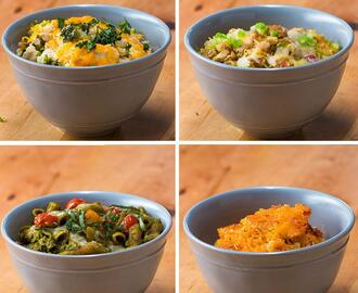 Lighter Dinner Bakes 4 Ways by Tasty