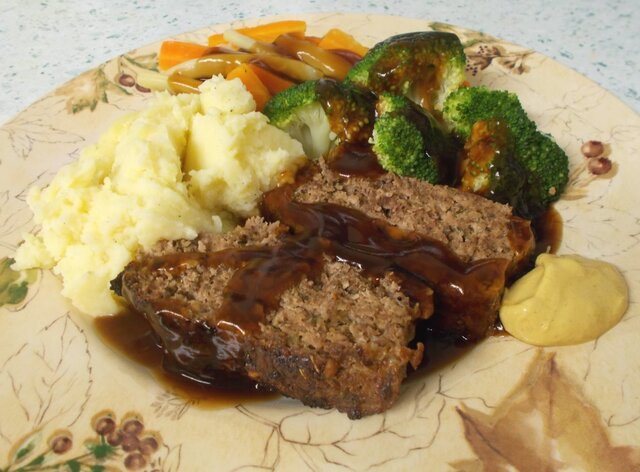 Scarborough Fairly Meatloaf - parsley, sage, rosemary and thyme!
