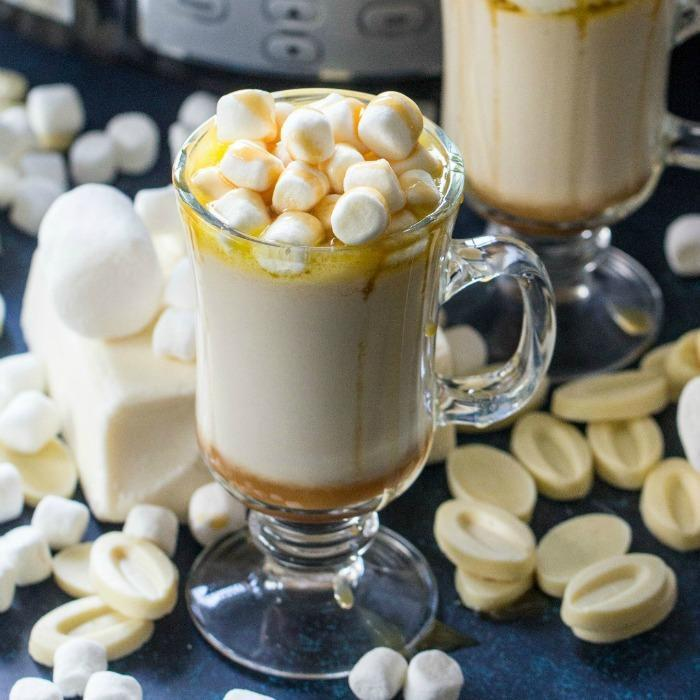 Caramel White Hot Chocolate Recipe
