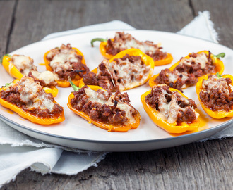 Stuffed snack peppers